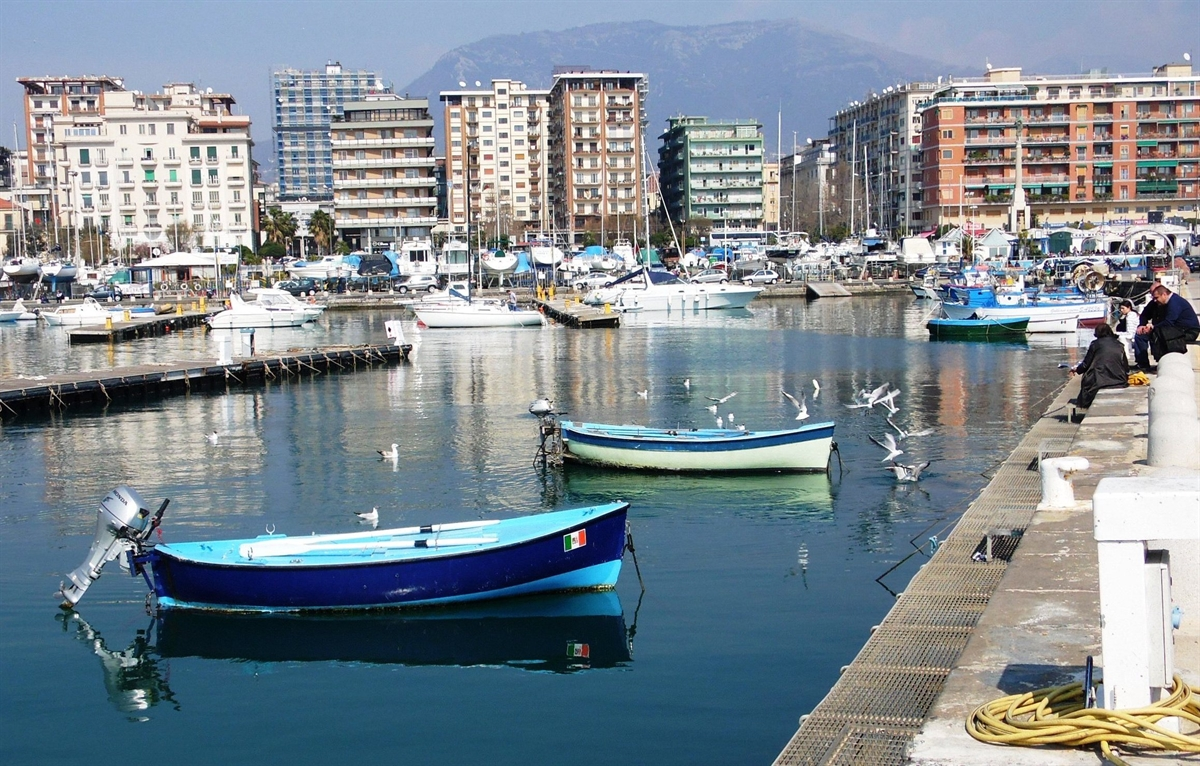 Salerno, la citta' tra le due coste