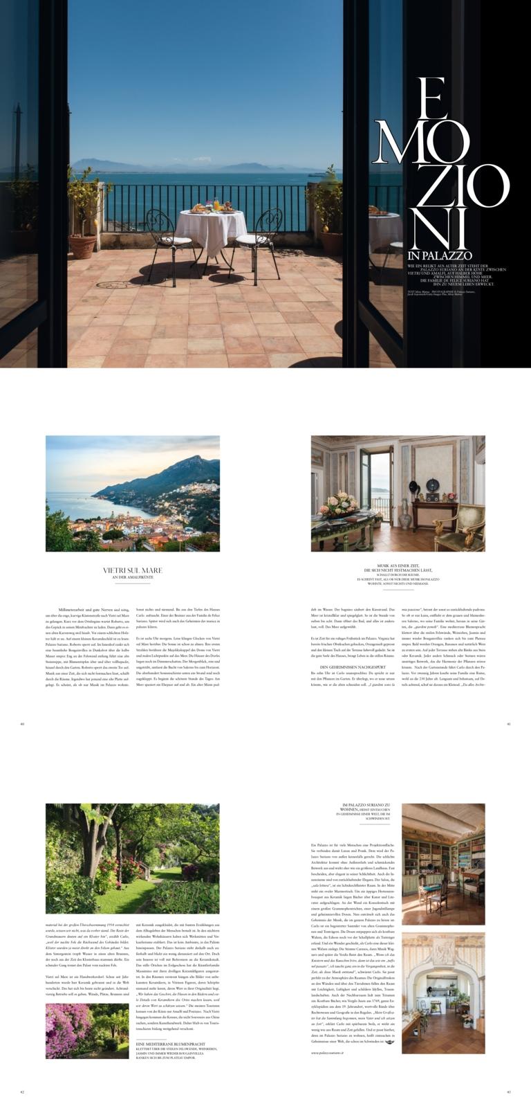 Palazzo Suriano sul magazine austriaco Modern Times