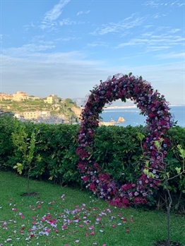 Wedding in Palazzo Suriano - Amalfi Coast - Town and sea view