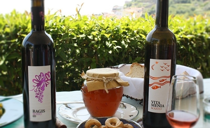 Wine tasting on the Amalfi Coast