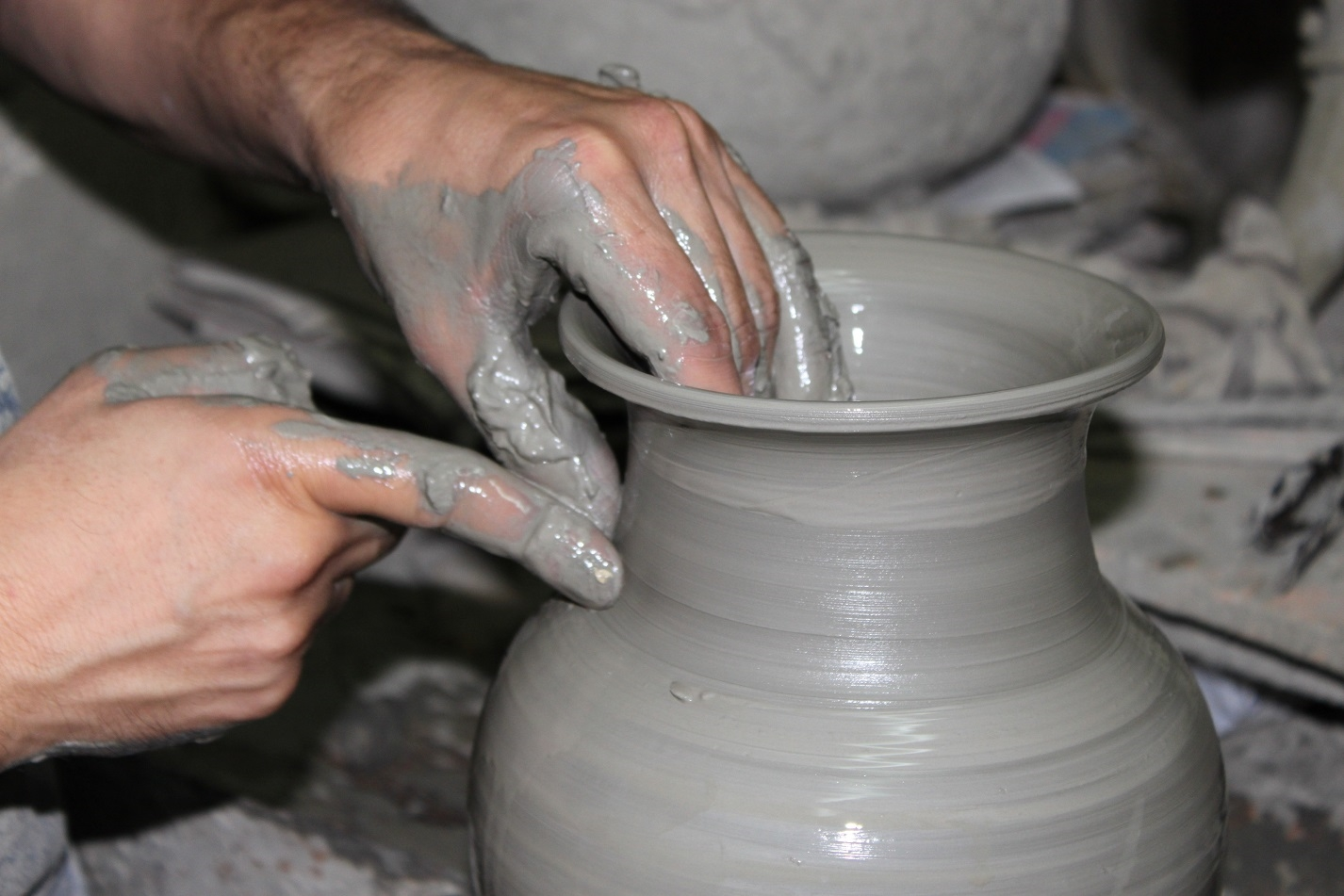Hand shape and paint your own ceramic creations in an artisan's workshop