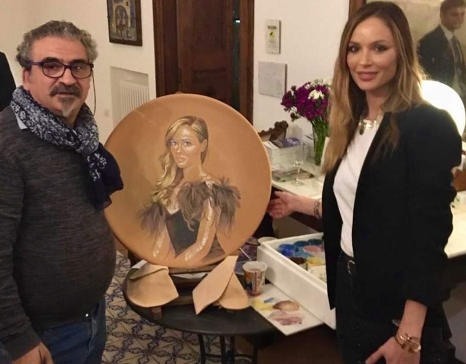 La stilista Georgina Chapman ospite di Palazzo Suriano