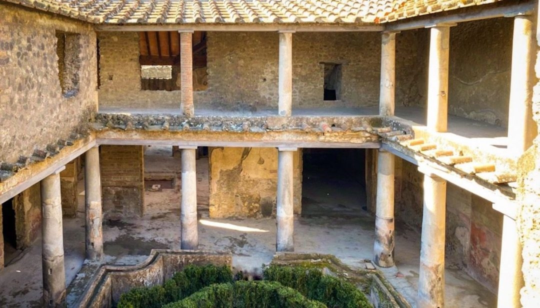 POMPEII, THREE NEW ROOMS OPENED TO THE PUBLIC