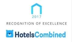 HotelsCombined premia Palazzo Suriano, con l'eccellente punteggio di 9.9 su 10