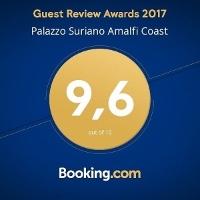 BOOKING.COM PREMIA PALAZZO SURIANO (Gennaio 2018) - Un superlativo punteggio (9.6) per Palazzo Suriano