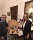 Mrs.Georgina Chapman was a guest of Palazzo Suriano in Vietri sul Mare, Amalfi Coast
